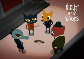 night in the woods - we found an arm by miesikard