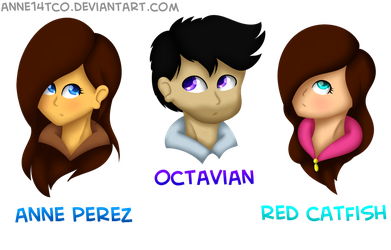 Humanized Poptropicans by ANNE14TCO