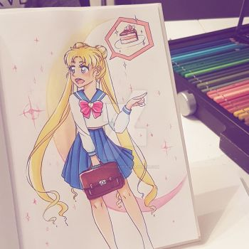 Sailor Moon! by Schokocockiie