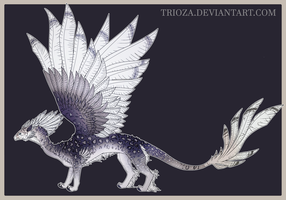 Dragon Design Auction #26 [CLOSED] by Trioza