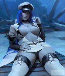 Commission: Esdeath by GawkInn