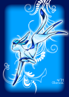 Glaceon Shiny by AluCakes