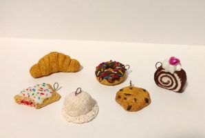 Polymer Clay Miniature Sweets by Papahodou