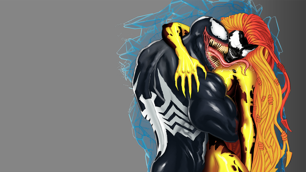 Symbiote Love  by EnriqueNL