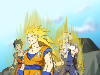 The boys are back in town! by Gx3RComics