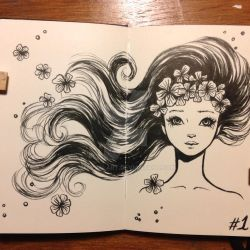 Day 1 INKtober 2015 by mayan-art