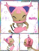 Skitty Hat with Tail