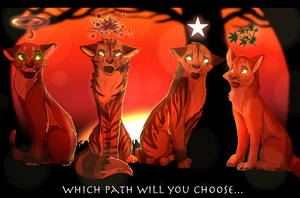 Which Path Will You Choose? by StormyyCloud