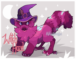 [Monsterfoo|closed] Witch Hazel by Lusomnia