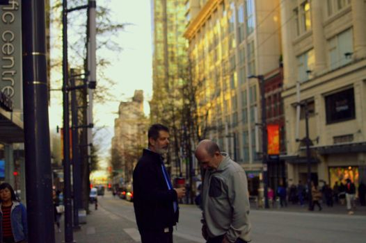 two men in vancouver by niitsvee