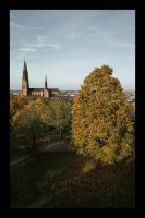 Uppsala by fall by iskallvinter
