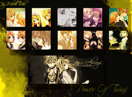 Kagamine Twins Icon Pack by MilchToChi
