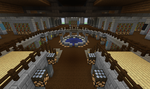 Large Library Interior by 8bloodpetals