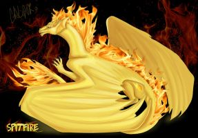 Spit Fire by Galidor-Dragon