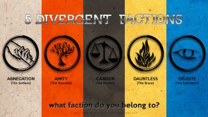 5 Divergent Factions by arelberg