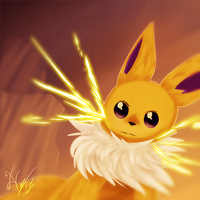 Speed the Jolteon by Xael-The-Artist