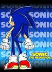Sonic the hedgehog Pose by renagadez
