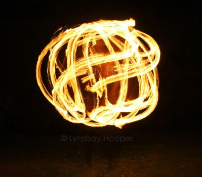 Ball of Fire Hoop! by AutumnPhyre