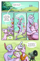Issue 1 | Page 3 by LUMINARIEScomic