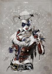 Harley Quinn - Warner Bros commission by neo-innov
