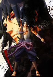 Uchiha brothers by MCAshe