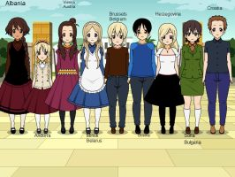 Hetalia   Europe by israel600