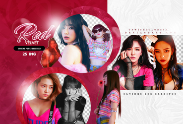 RED VELVET PNG PACK/#2/BAD BOY by Upwishcolorssx