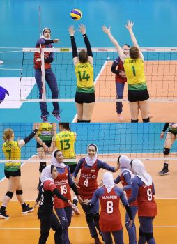 Australian women humiliated by Iran by Docta24