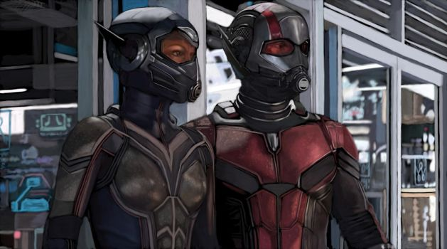 Antman and the Wasp by SoulStryder210