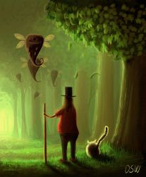 Walking the cat by OSW