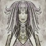 abstract witch by defeale