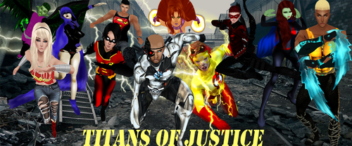 YoungJusticeTitans1 by TreStyles