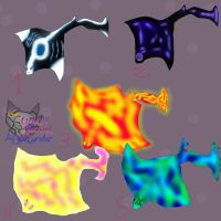 Adoptable Mantas rays Elements( CLOSED!) by AngelCnderDream14