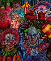 Killer Klowns from Outer Space by JosefVonDoom