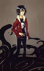 nico di angelo by Reineke-Fox