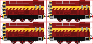 Great Railway Show Shunters by Princess-Muffins
