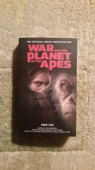 War for the Plant of the Apes Novel by Baloorule58