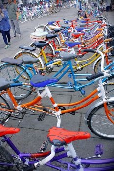 Colorfull Bicycles by Mr-Astroboy