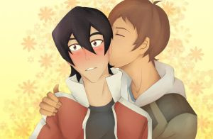 Klance: Hair Kiss by ototobo