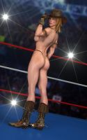 Tina Armstrong - Cowgirl 03 by LethalCandy