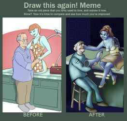 Draw This Again Meme by sman118