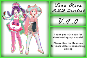 Tone Rion MMD model download [V.4.0] by Pikadude31451