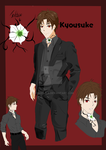 Reference Sheet: Kyousuke (Bellamore) by KokoTala