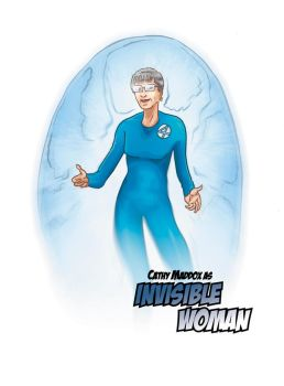 Invisible Woman Commission by GeekyWhiteGuy