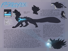 Askriyix ref sheet by Incyray