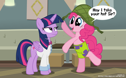May I take you hat Sir? by jhayarr23