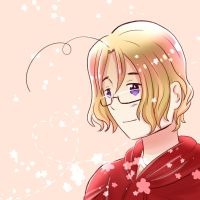APH - Flowery Canada [Art Trade with HoshikoxChi] by WingsOfPotatoes