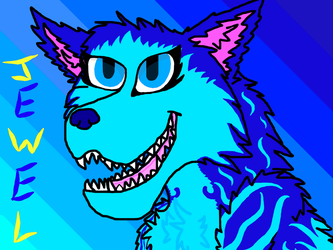 Jewel (with eye shading) Testing out FireAlpaca X3 by Flippyisadorable