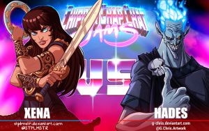 CCCJams - Xena vs Hades by G-Chris