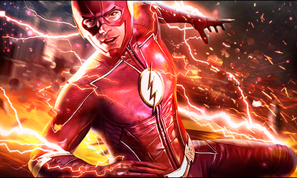 Flash fdls red by Pajaroespin